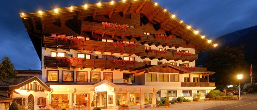 Sporthotel Modlinger, Söll, Austria - Exterior at night.jpg